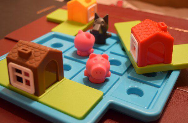 Malé prasiatka stolová hra