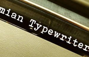 Písmo písacieho stroja