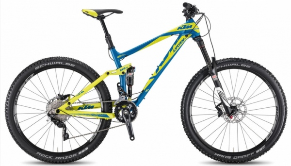 Bicykel celo-odpružený