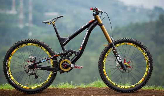 bicykel Zjazdový