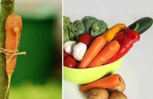 zelenina a krivá zelenina
