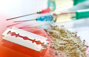 Drogy a heroín, ilustračná foto