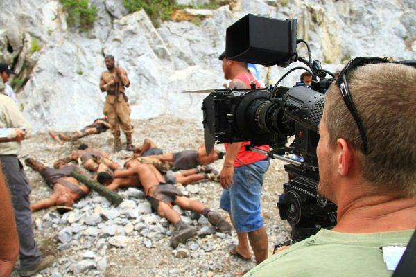 Filmovanie a komparzisti