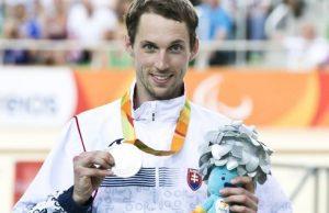 Jozef Metelka, facebook paralympijského výboru