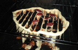 Pizza fail pečenie