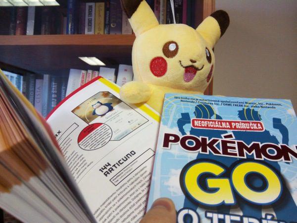 Pokémon Go kniha