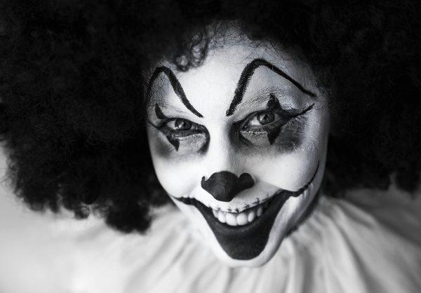 Kaulrofóbia je strach z klaunov