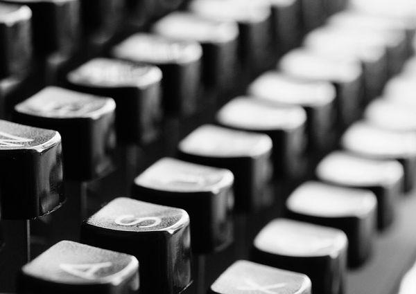 Klávesnica písacieho stroja