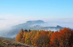 November a postupujúca jeseň