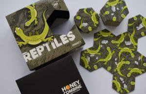 Reptiles, jašterice - stolová hra
