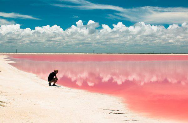 Ružové more, Las Coloradas