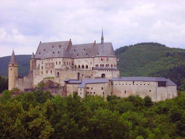 Vianden Luxembursko