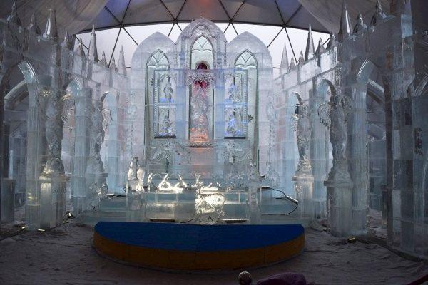 ľadový oltár, Hrebienok, Vysoké Tatry