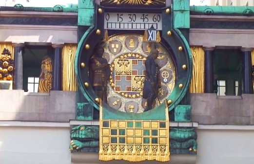 Ankeuhr orloj Viedeň
