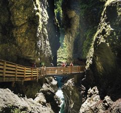 Lichtenštajnská tiesňava - Liechtensteinklamm