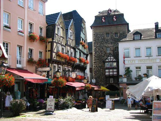 Linz historické centrum