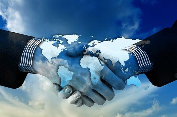 Podanie ruky a biznis