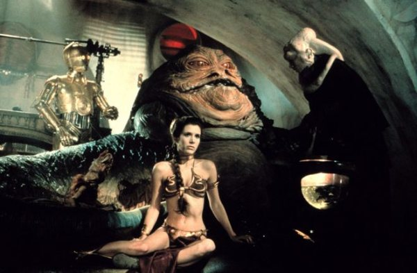 Princezná Leia, Carrie Fischer v Star Wars