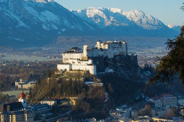 Salzburg a hrad