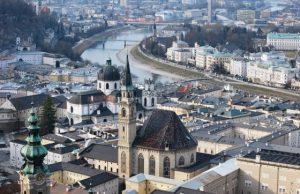 Salzburg a Rakúsko