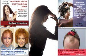 Falošné prípravky na rast vlasov