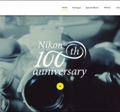 Nikon 100 rokov logo