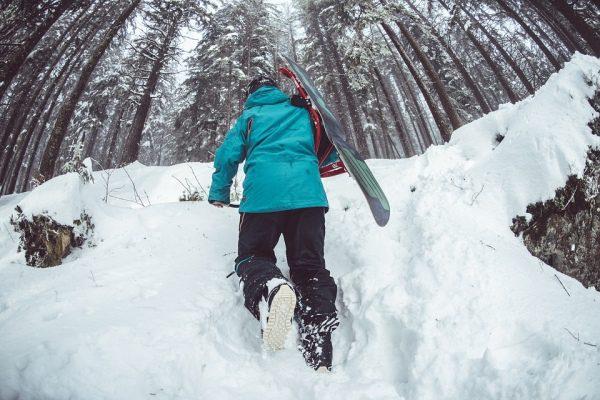 Šlapanie aj cez zjazdovky, ski