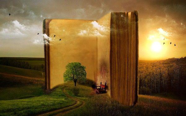 Kniha a ilustračná snímka