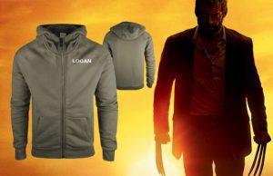 Wolverine, logan vyhrajte mikinu
