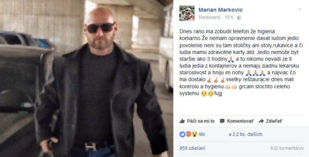 Marián Markovič pomáha bezdomovcom v Komárne