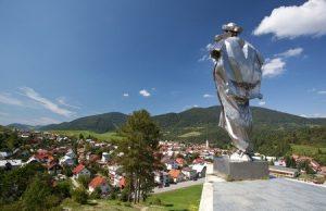 Socha Jánošíka v Terchovej