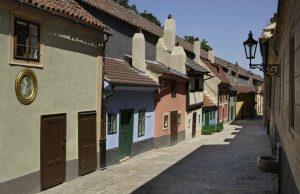 Zlatá ulička, pražský hrad