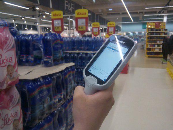 Scan and shop Tesco skener