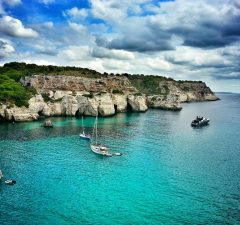 ostrov Menorka, Baleáry a pláž