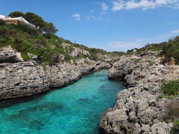 ostrov Menorka, Baleáry a voda