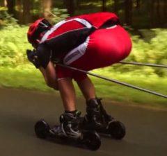 Skike downhill