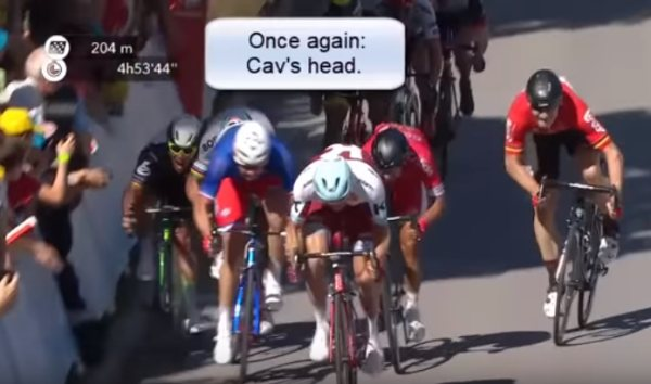Cavendish a Sagan, Tour de France 2017