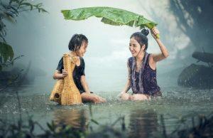 Problémy v raji, dážď a exotika
