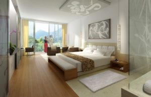 Hotelová izba a jej interiér