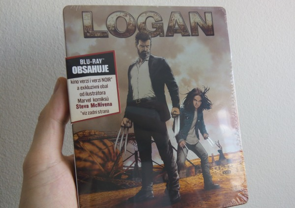 Logan steelbook bluray