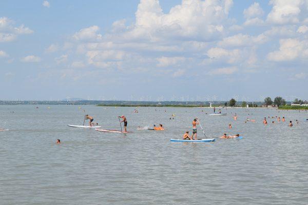 Neziderské jazero, Rakúsko a Podersdorf am See