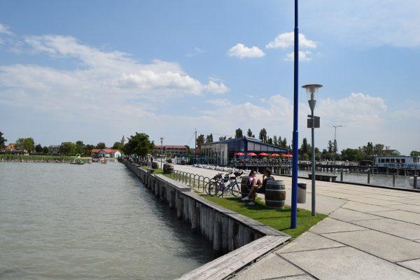 Podersdorf am see, Rakúsko pri Neziderskom jazere