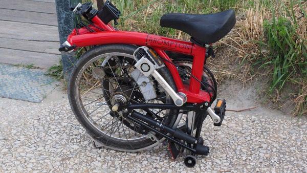 Skladací bicykel