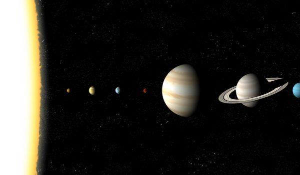 Solárny systém bude mať 8. septembra 2040 konjunkciu