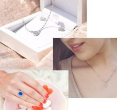 Šperky s materiálom striebro