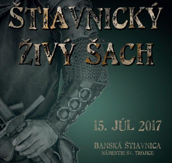 Banská Štiavnica a živý šach 2017