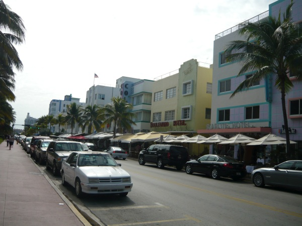 Art Deco Miami Beach, mata