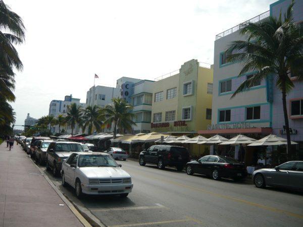 Art Deco Miami Beach, mata