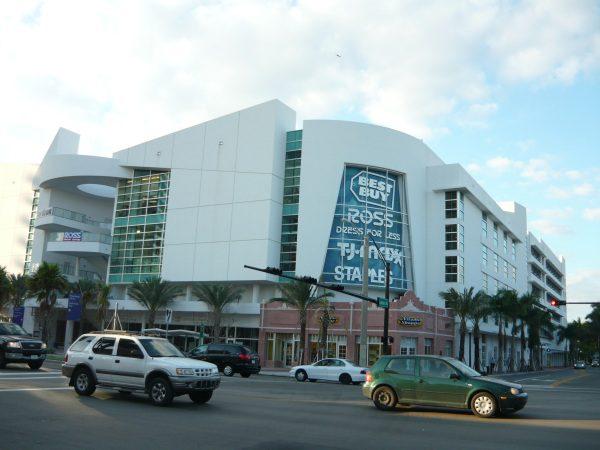 Miami Beach  nákupné centrum
