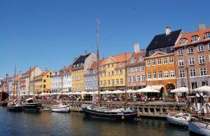Nyhavn prístav Kodaň